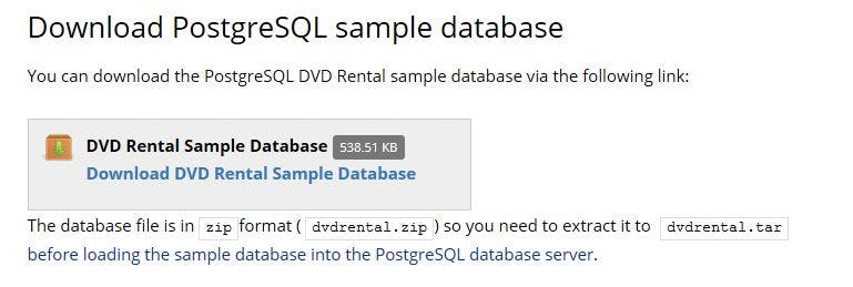 Postgresql Zip