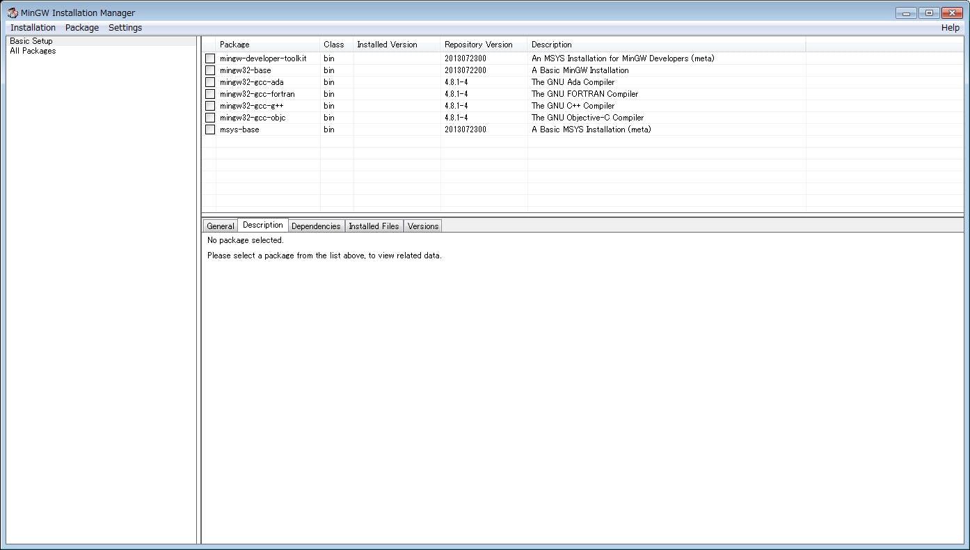 WindowsでGLFW3 1開発環境構築(Code::Blocks,MinGW)・その1 - Qiita