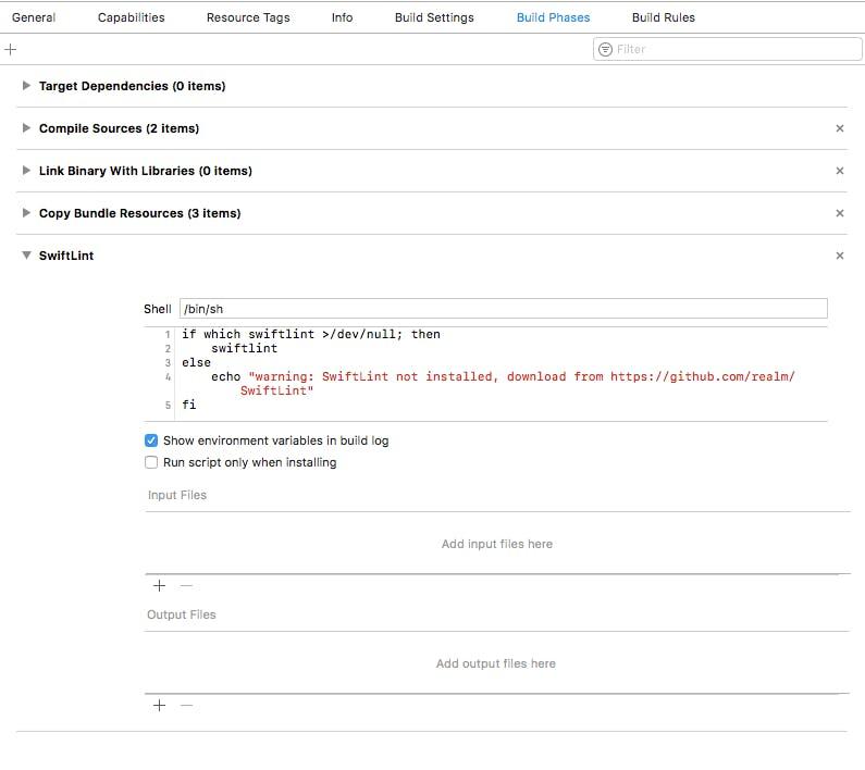 Swiftの静的解析を行うためにSwiftLintをインストールしてみた