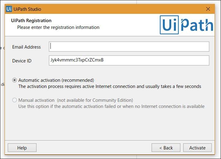 UiPathで始めるRPA - セットアップからHello World!まで - Qiita