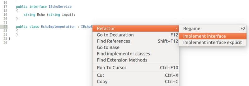 monodevelopのリファクタリングサポート