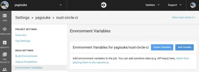 Nuxt Environment Variables