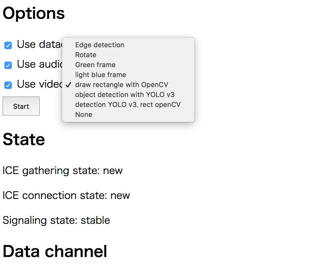 PythonのWebRTC実装aiortcと、物体検出のYOLO v3の連携を試みる - Qiita