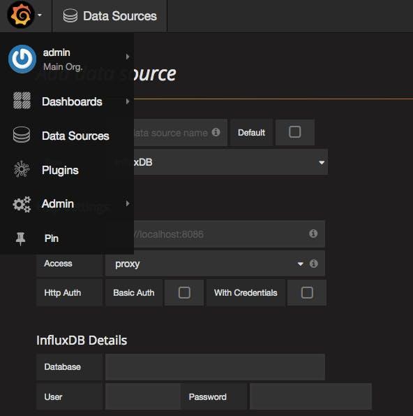 Grafana Add Data Source
