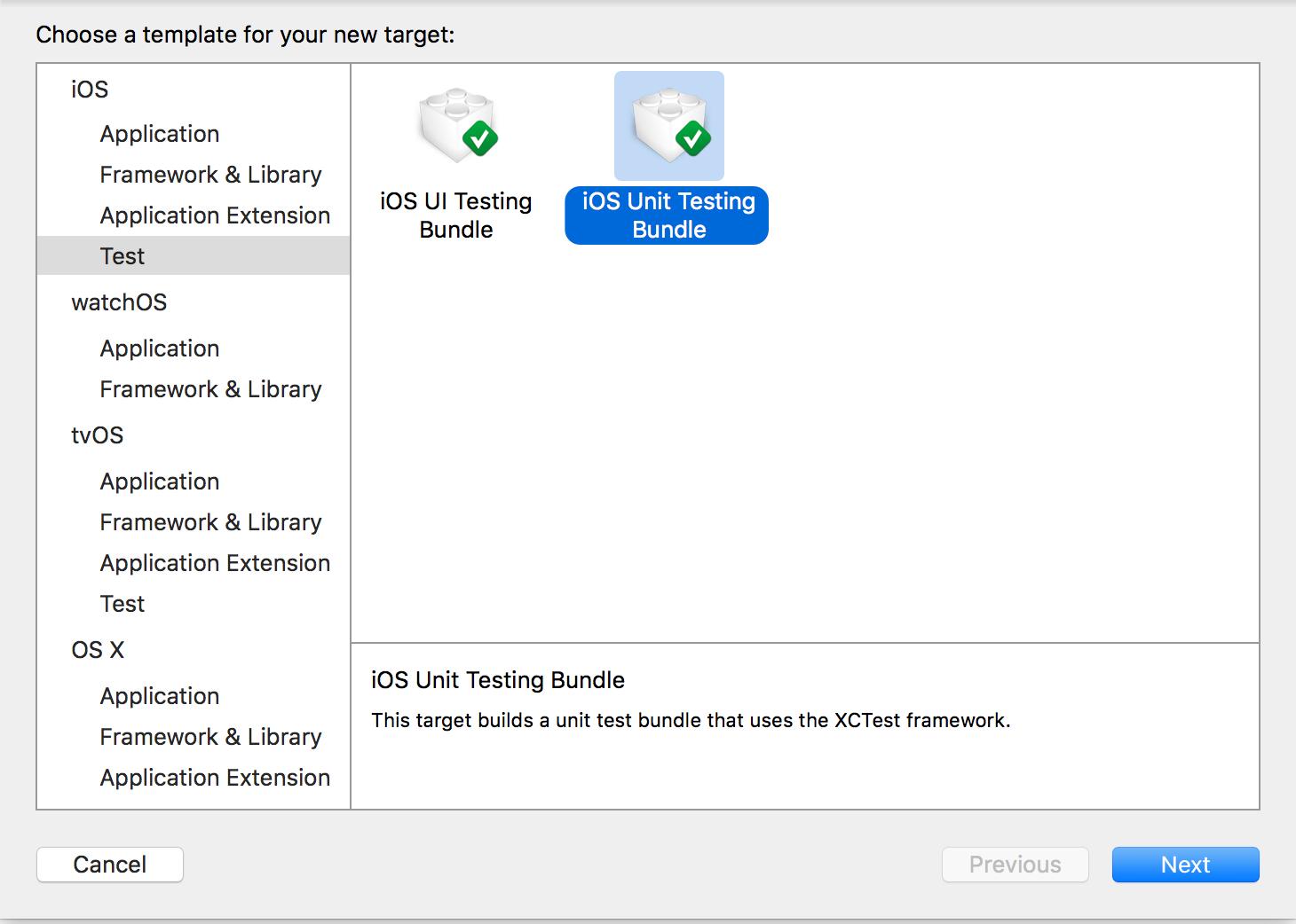 iOS Unit Testing Bundle