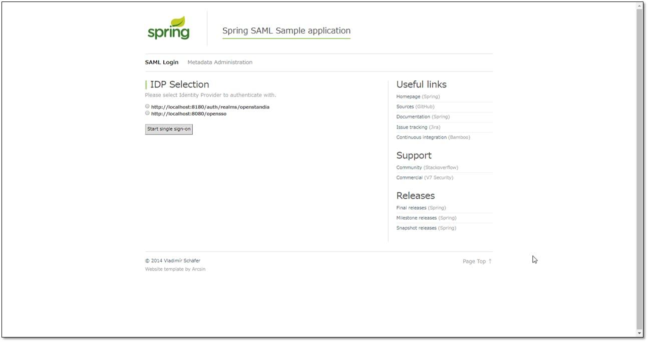 Spring Security SAMLを使ってKeycloakと連携してみる(Spring 5編) - Qiita