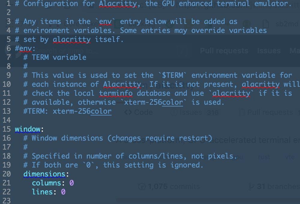Terminalの見た目を維持してAlacrittyを導入したよ - Qiita