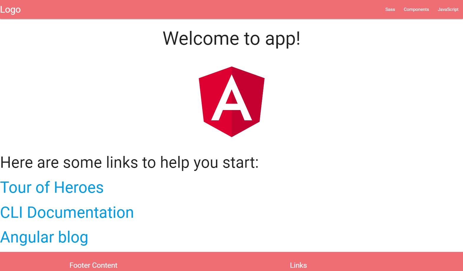 Angular 5 (with materialize)をWindows 10で簡単にはじめる(using