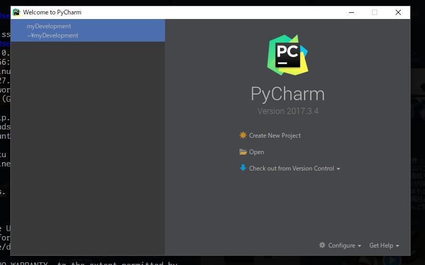 pycharm_startwindow.PNG