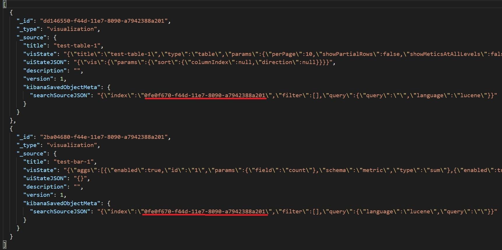 export.jsonの変更箇所