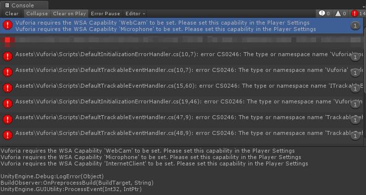 TestWindowsVuforia_buildErrorConsole20181212.png