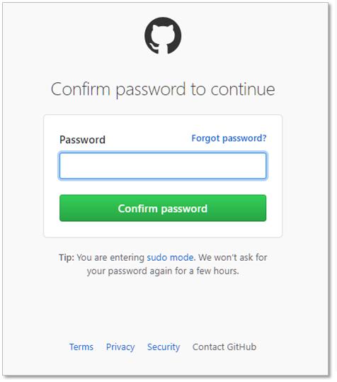 githubのパスワード入れる.png