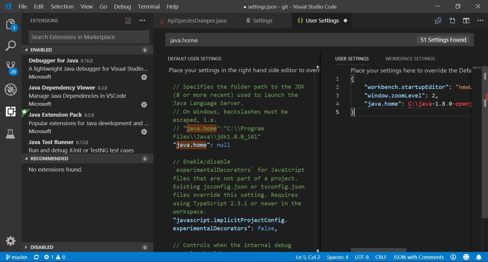 SnapCrab_● settingsjson - git - Visual Studio Code_2019-1-19_22-56-53_No-00.png