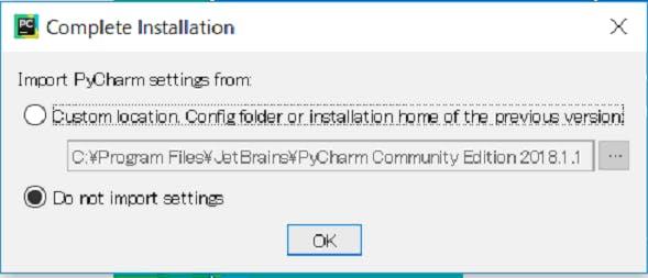 Windows10環境でAnaconda、Pycharmインストール・設定トライ(2) - Qiita