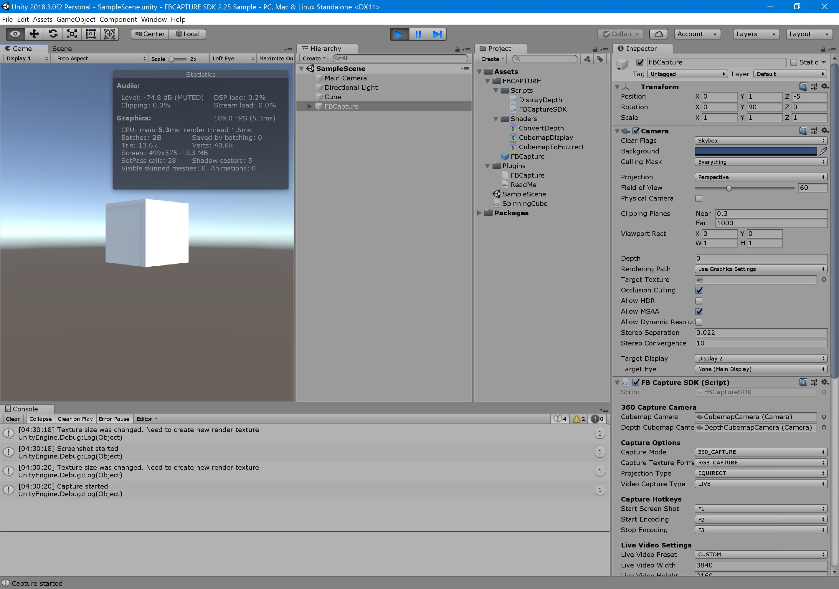 Unity Render Texture Max Size