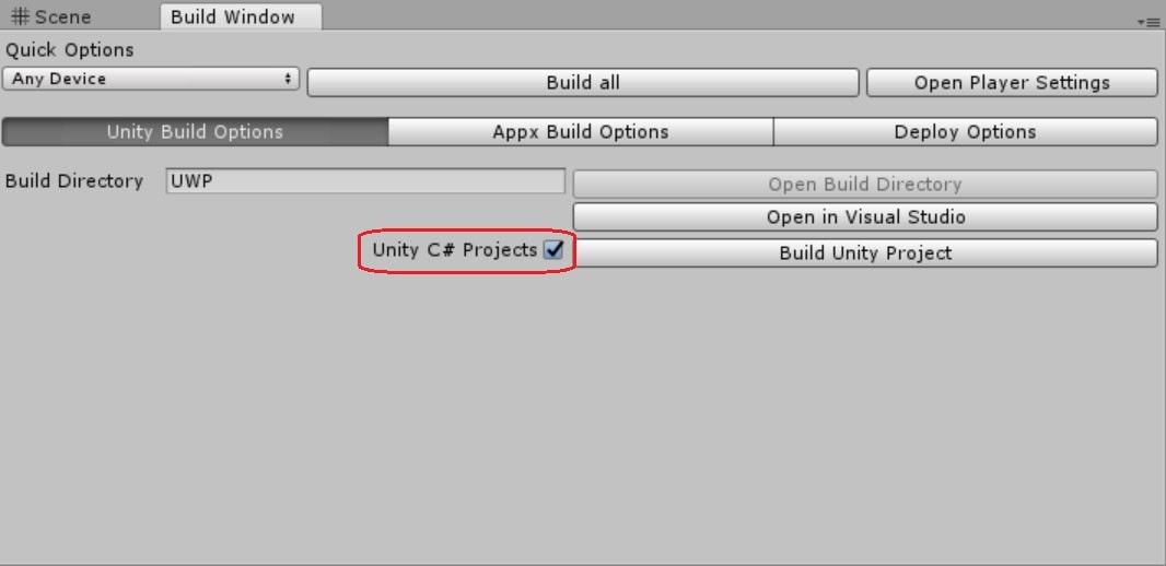 UnityHolo_BuildSetting(MRTK)1.jpg
