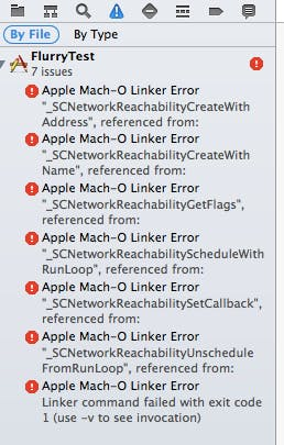Xcode】【iOS】ライブラリ導入時のApple Mach-O Linker Error  library