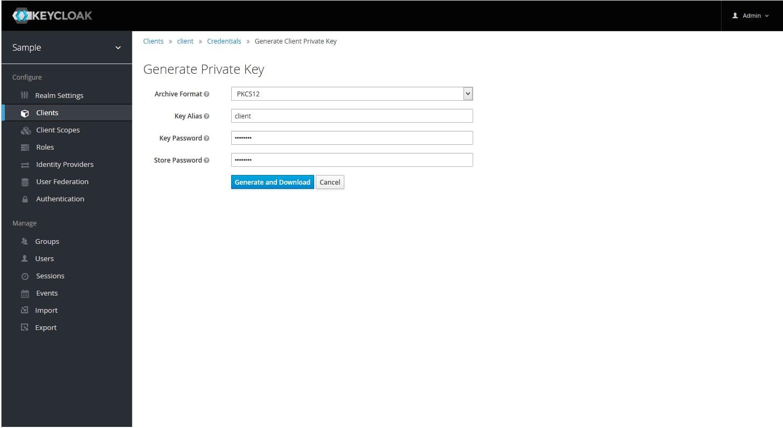 Keycloak : JWT によるクライアント認証 - Qiita