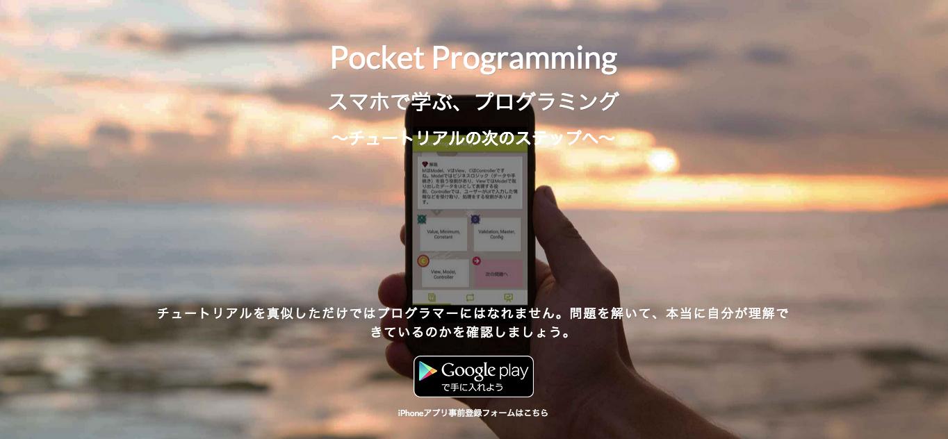 Pocket Programming(ポケットプログラミング)