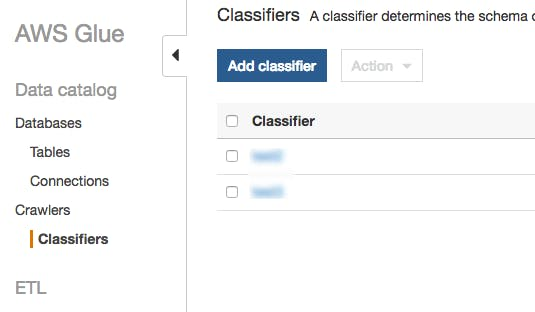 Aws Glue Grok Classifier Example