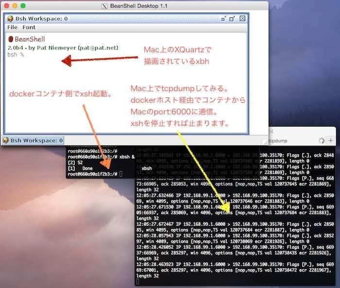 DockerコンテナのGUIをMac側に飛ばして表示させよう。 - Qiita