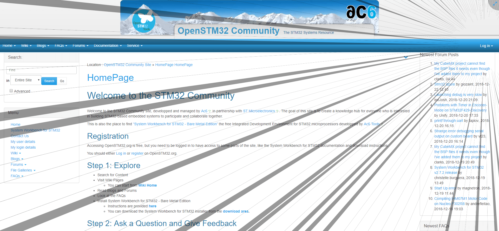 FireShot Capture 6 - OpenSTM32 Community Site I HomePage - http___www.openstm32.org_HomePage-min.png