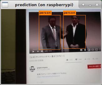 Raspberry PIで(そこそこ)リアルタイムにYOLOを動かしてみる (darknet