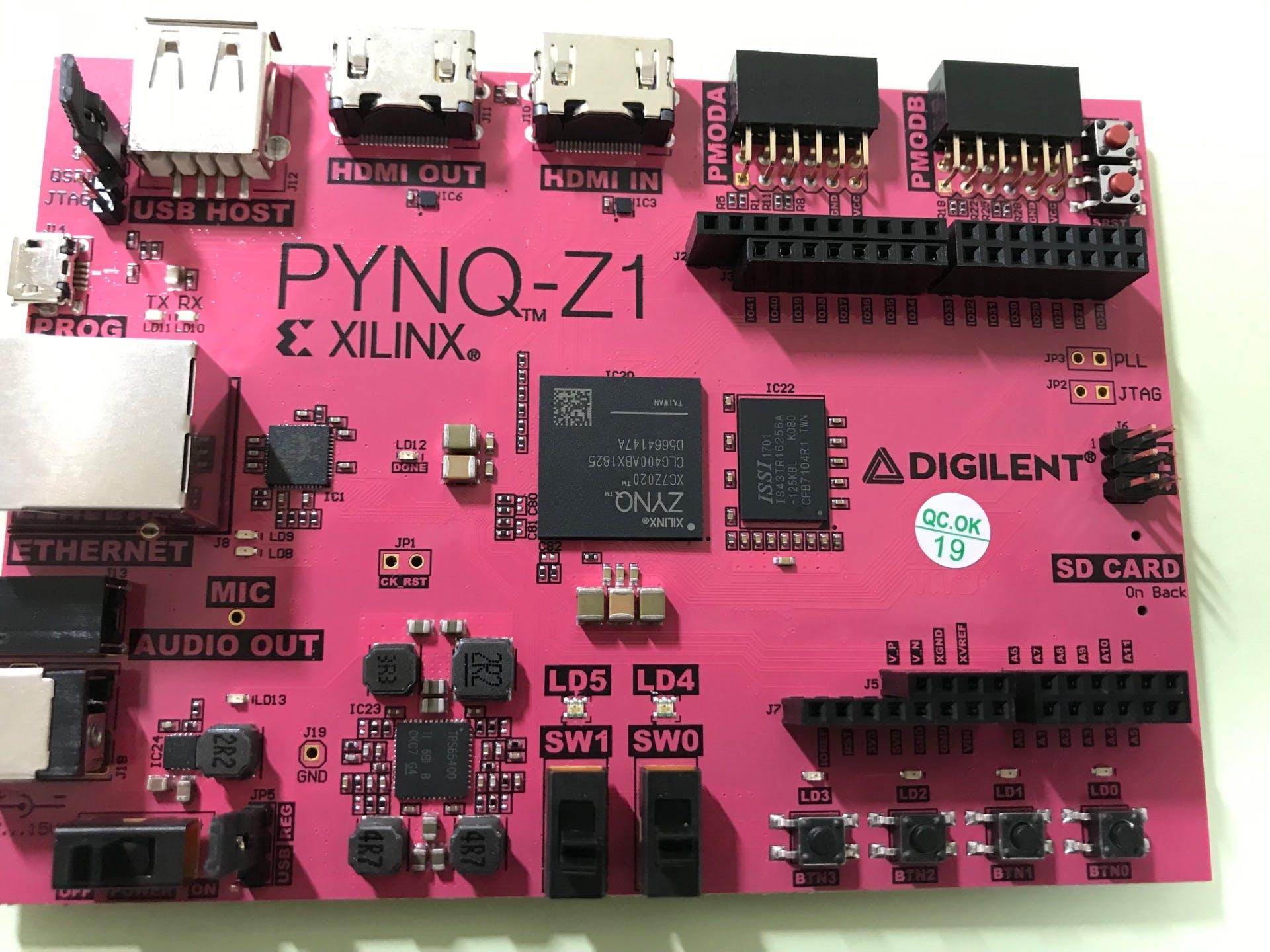 Pynq Z2 Digilent