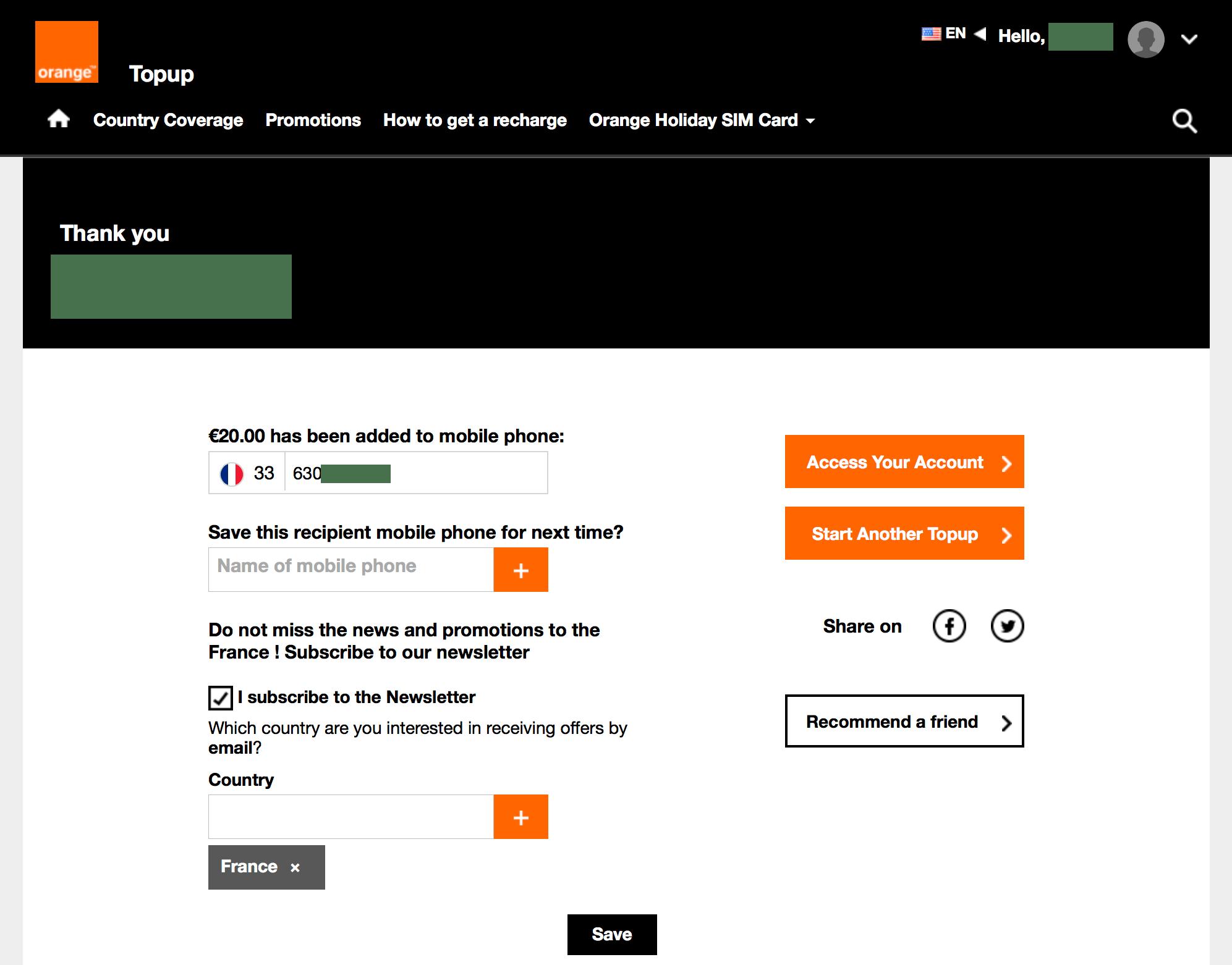 フランスsim: Orange Holiday Europeの購入・使用方法まとめ