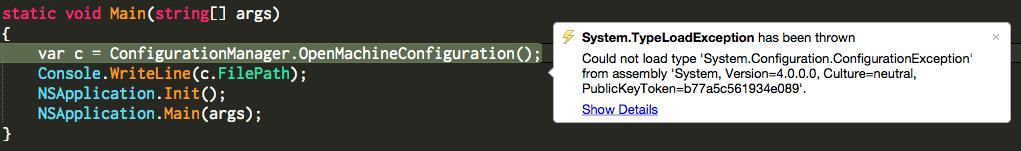 TypeLoadException
