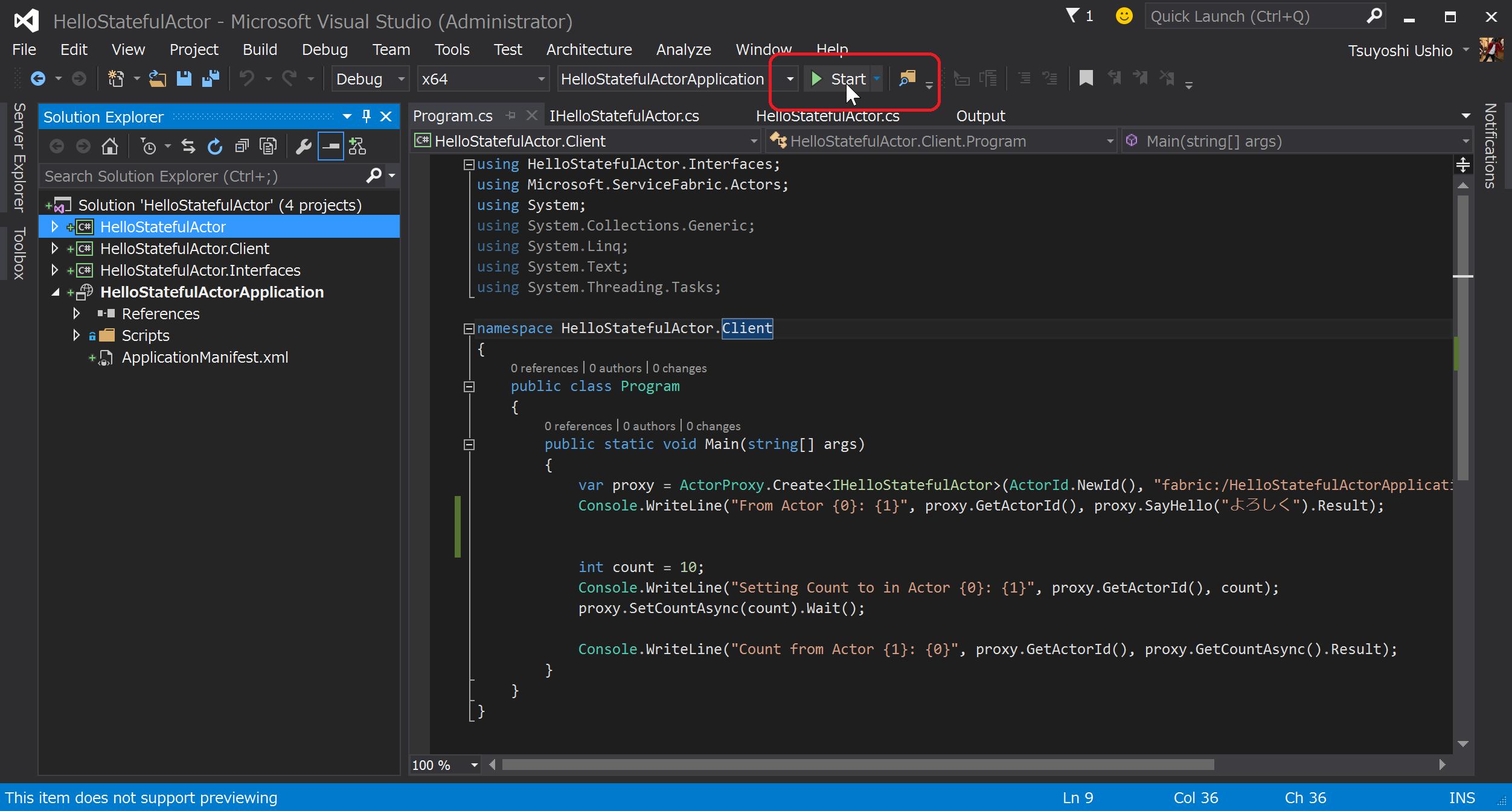 SnapCrab_HelloStatefulActor - Microsoft Visual Studio (Administrator)_2015-5-21_14-21-47_No-00.png