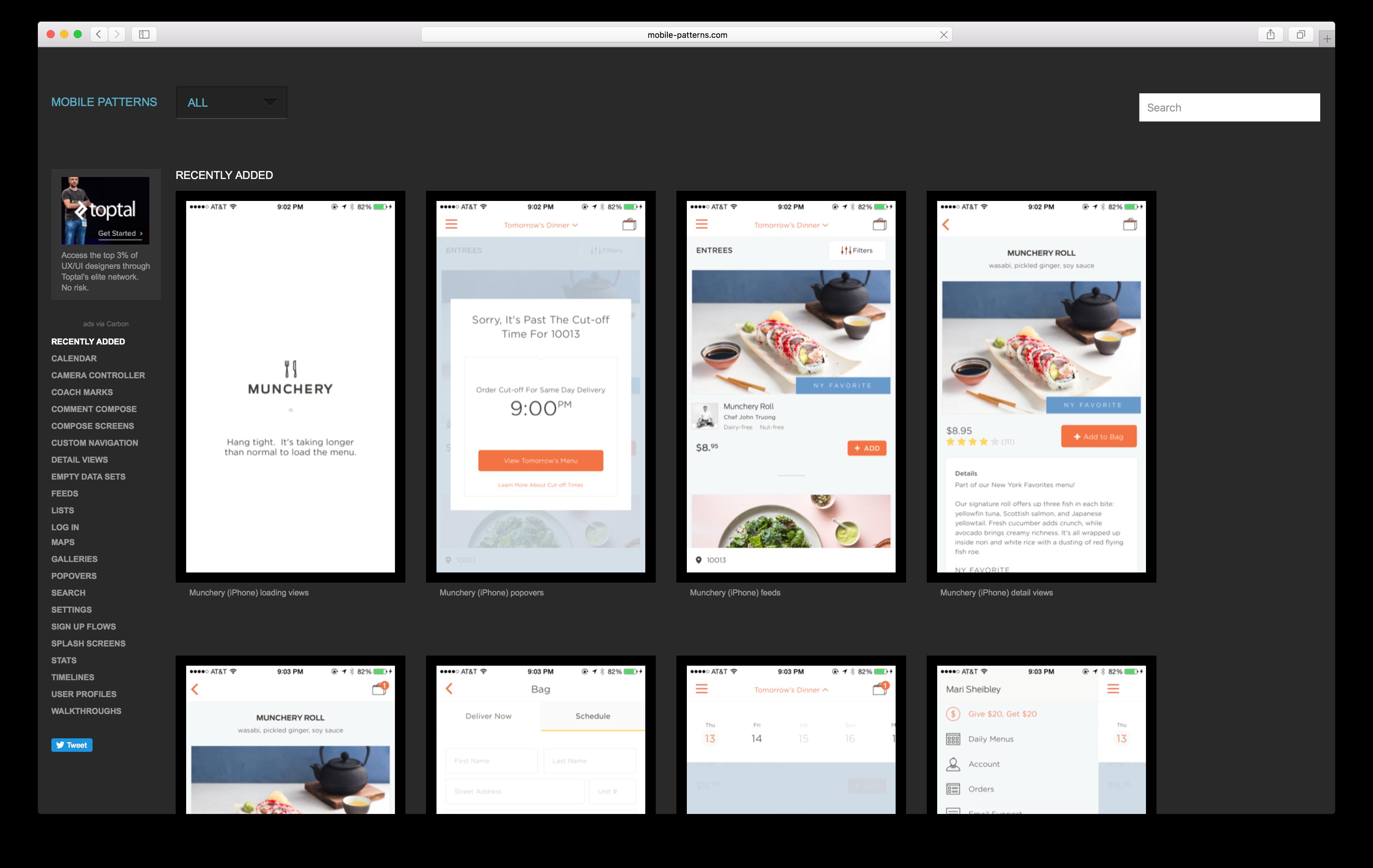 mobile-patterns.com