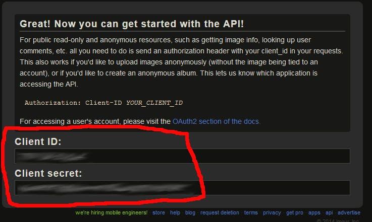 最強の画像アップロードサイト「Imgur com」のAPIを利用する(匿名画像