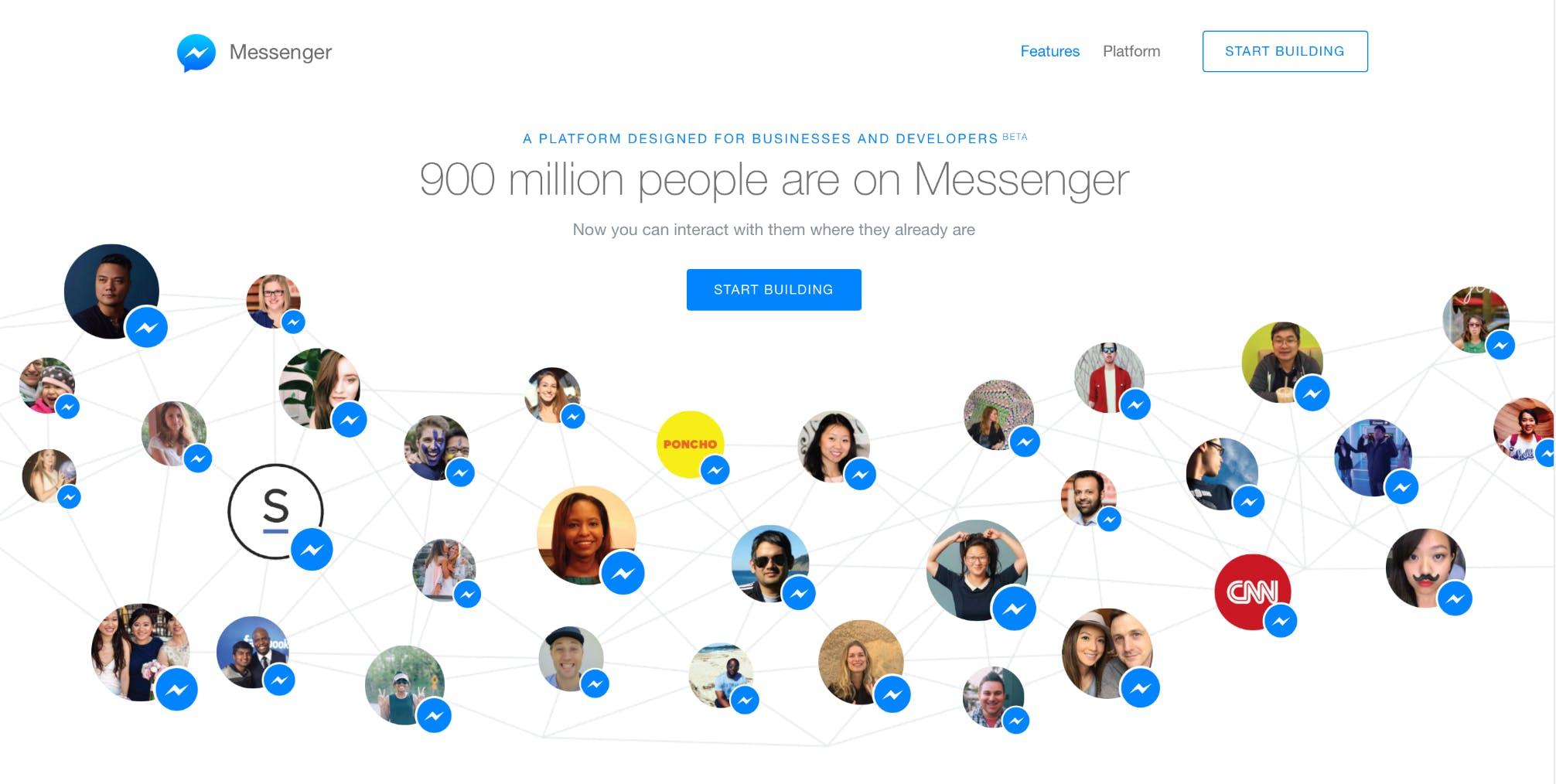 Facebook Messenger Platform BETAでできる全ての事を試してみた(LINE