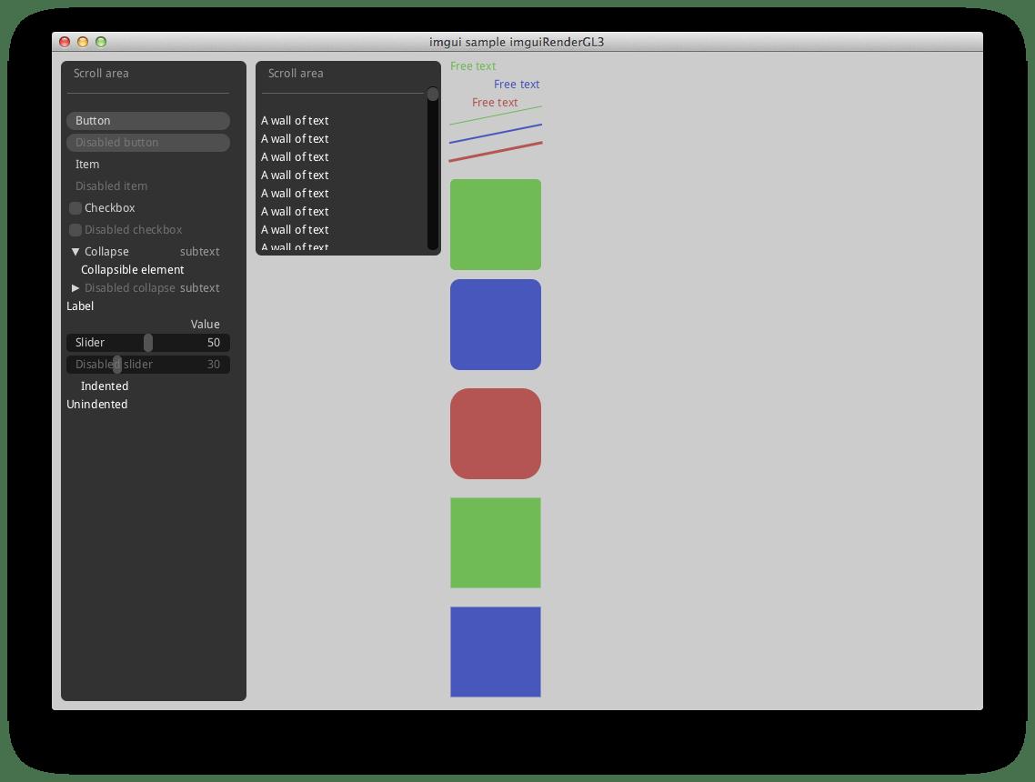 OpenGL な UI を作るライブラリ一覧 - Qiita