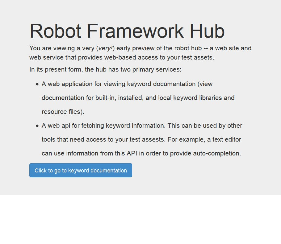 Robot drives on the web: Robot Framework &