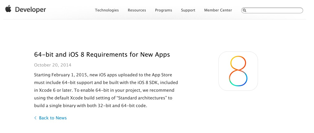 64-bit_and_iOS_8_Requirements_for_New_Apps_-_News_and_Updates_-_Apple_Developer.jpg