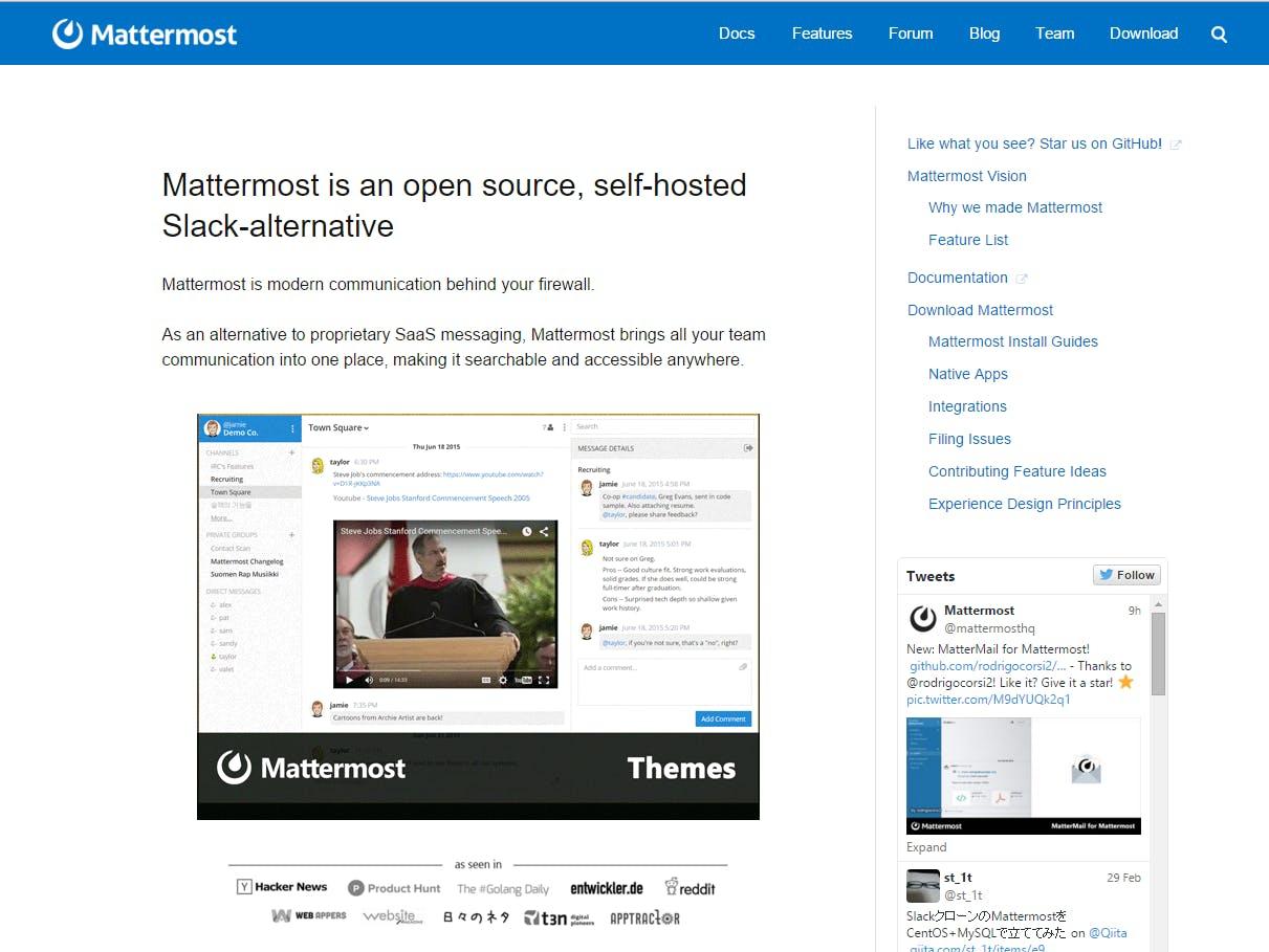 SlackクローンのMattermostを使ってみる - 導入、初期設定編- - Qiita