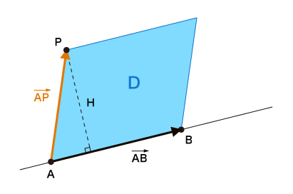 点と線の距離を求める