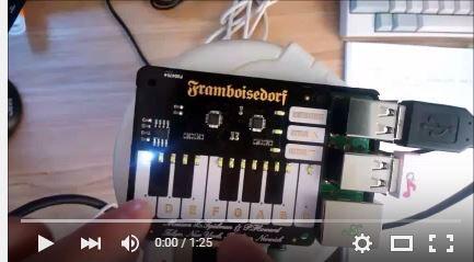 Youtube Pimoroni PianoHat