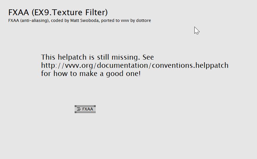 FXAA (EX9.Texture Filter) help.png