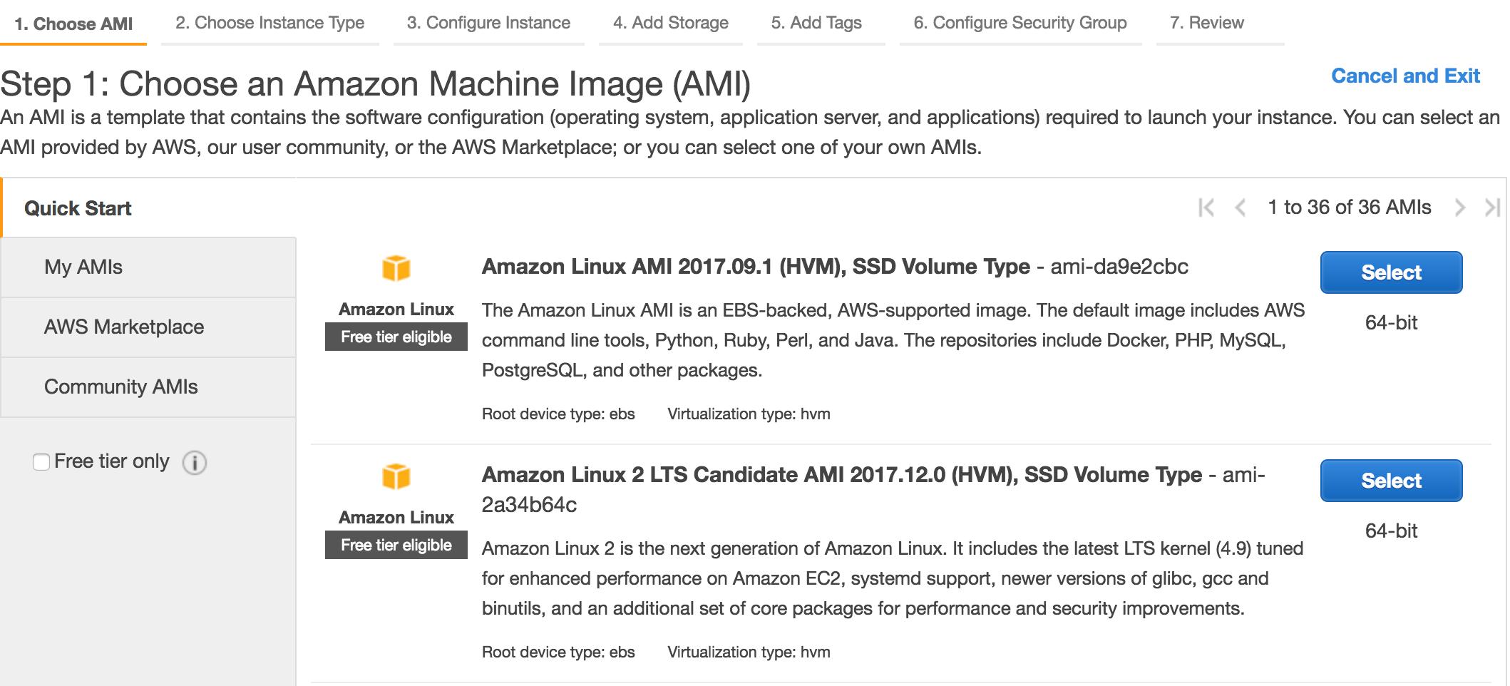 Amazon Linux 2 LTS RC