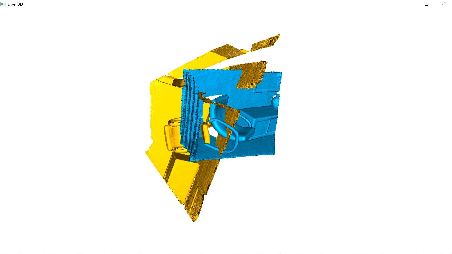 Triangle Mesh Open3d