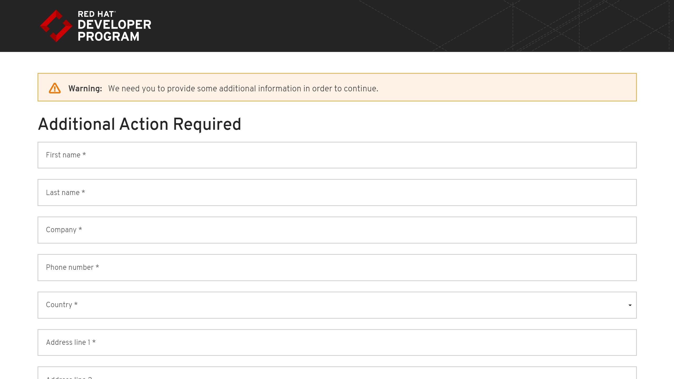red-hat-developer-program-downloads-additional-action