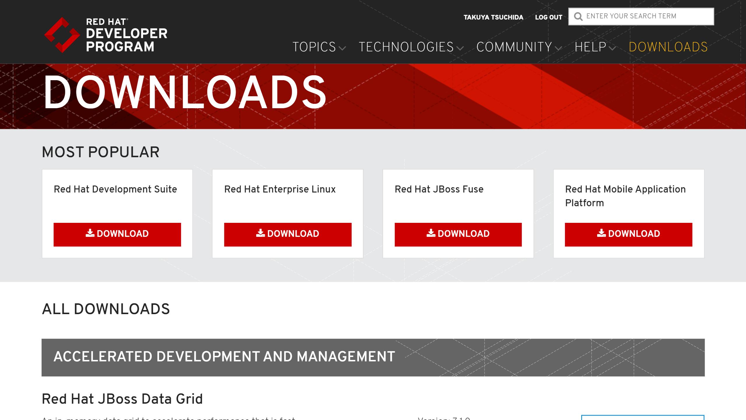 red-hat-developer-program-downloads