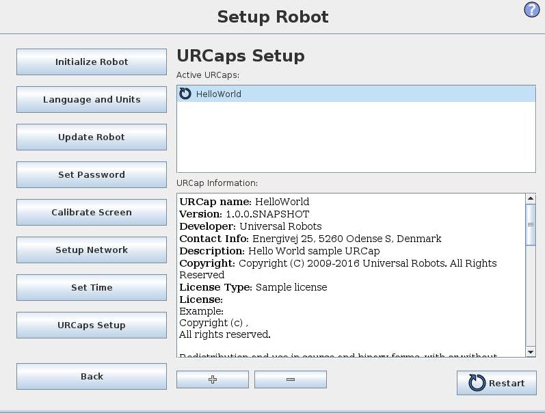 Universal Robotics URCapsの開発環境構築 - Qiita
