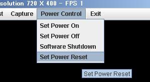 Set Power Reset