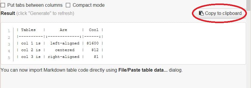 Excelの表をMarkdown形式に変換 - Qiita