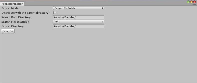 Unity で 3Dモデル を取り扱う上で単調になりがちな作業をまとめて処理し