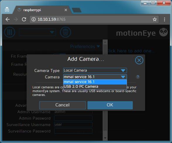 らずぱい motionEye (Web UIベースのカメラサーバ) - Qiita